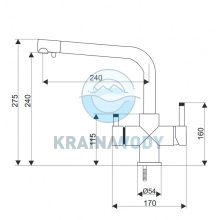 Bateria Aquafilter FXFCH13-3-M