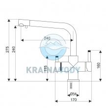 Bateria Aquafilter FXFCH13-4-M