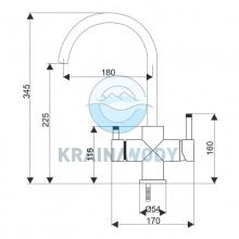 Bateria Aquafilter FXFCH14-4-M