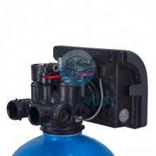 Głowica zmiękczacza wody Ecoperla Softower M od tyłu