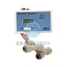 Miernik przepływowy dual TDS Meter