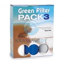 Zestaw wkładów Green Filter PACK3